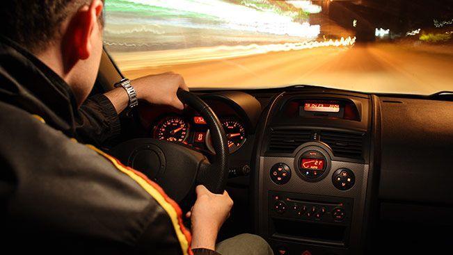 بررسی سرعت خودرو