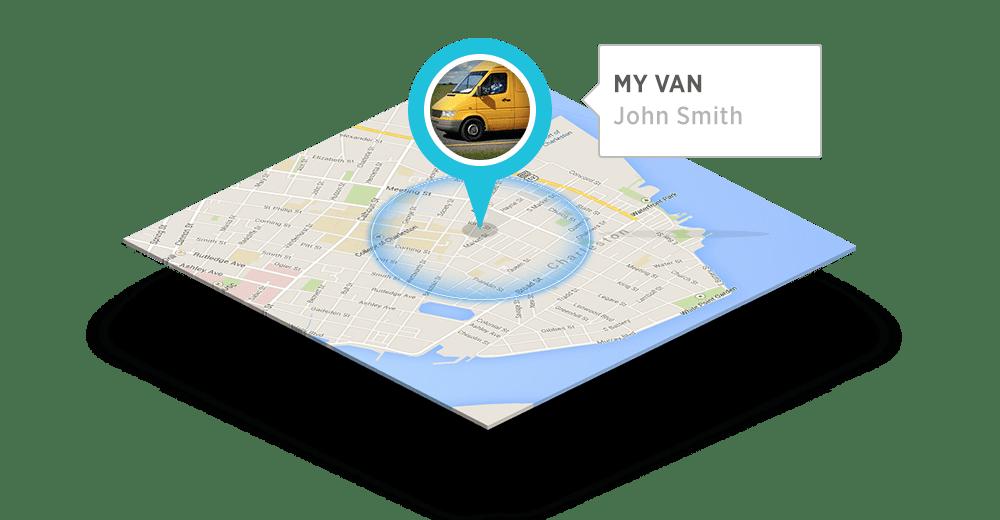 کنترل مسیر خودرو های شرکت ها: