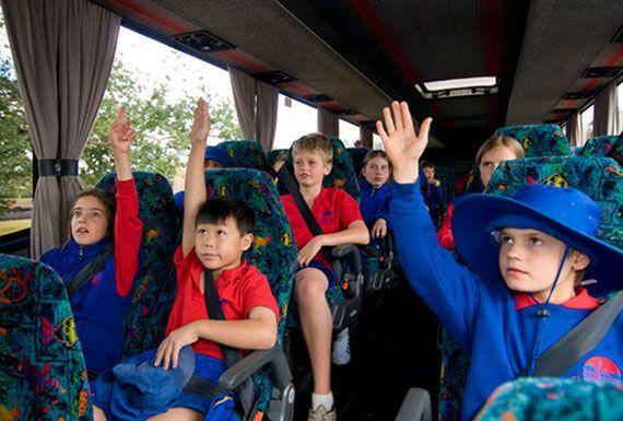 ردیاب شخصی برای کودکان در سفرهای علمی مدرسه